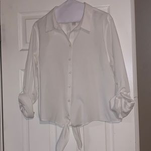 Chico's No-Iron 2.5 White Blouse